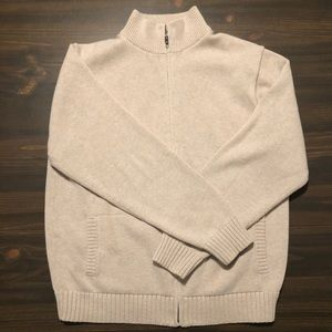 Men's L.L. Bean Zip Up Sweater